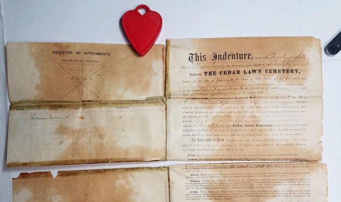 Cedar Lawn Cemetery document