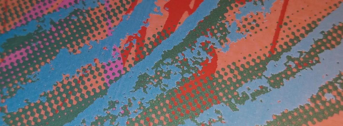 Warhol screenprint detail